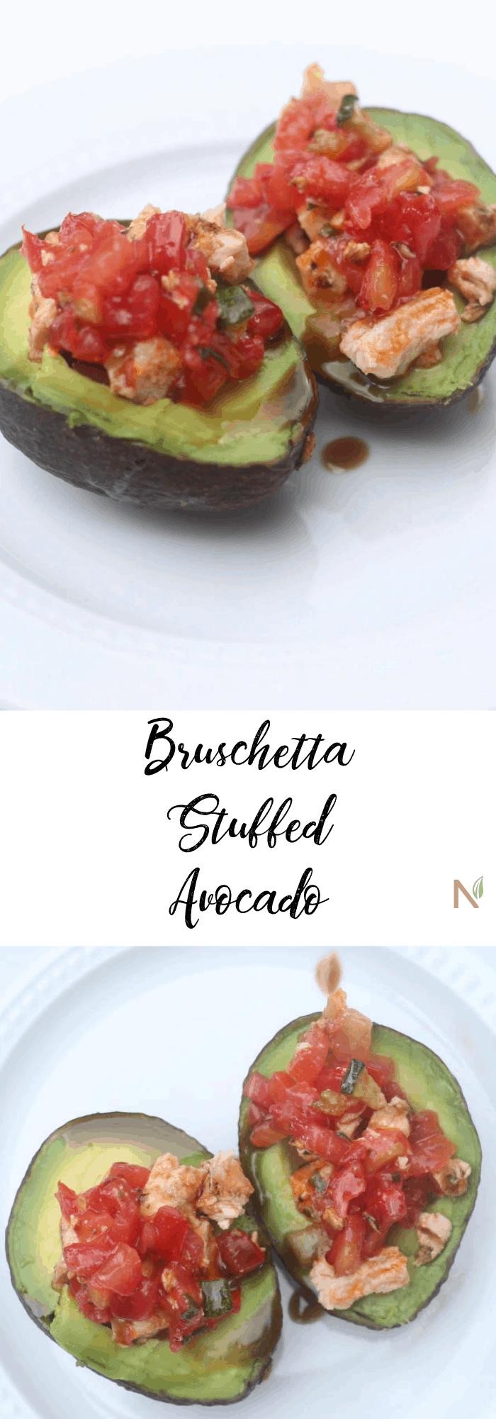 bruschetta chicken avocado